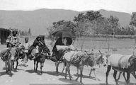تصویری از جاده قدیم شمیران