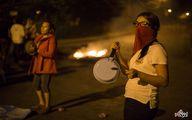اعتراض به سبک زنان هندوراسی با قاشق و قابلمه/عکس