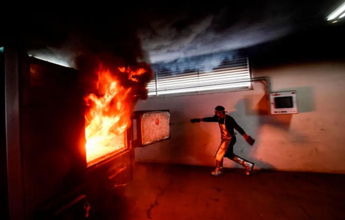 عکسی دیده نشده از یک مرکز سوزاندن اجساد قربانیان کرونا در مکزیک
