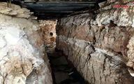 کشف تونلهای تروریستها در دمشق/تصاویر