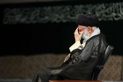 مراسم عزاداری رحلت رسول اکرم (ص) با حضور رهبر انقلاب