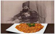 تصویر مبدع قاجاری غذای خوشمزه میرزا قاسمی