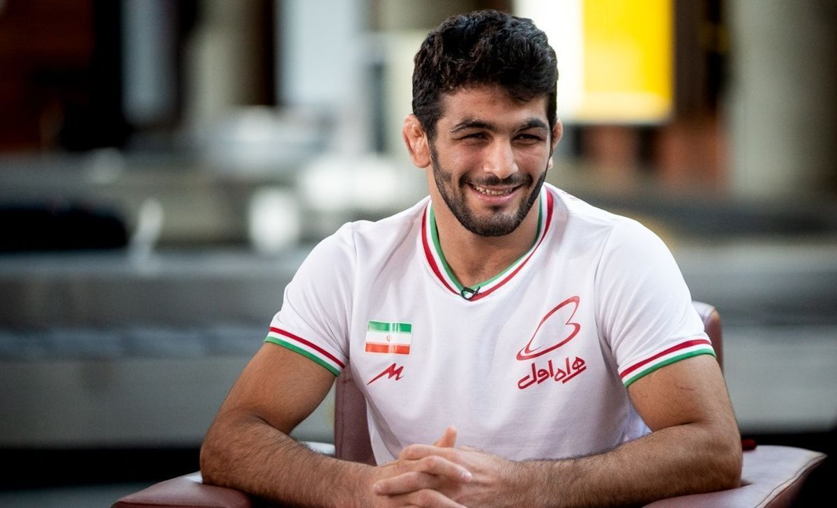 عکس لورفته حسن یزدانی در مسابقات جهانی