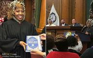 اولین قاضی محجبه در آمریکا/ عکس