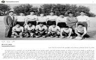 تصویر کمتر دیده شده از یادگار امام در تیم فوتبال