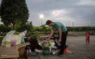 سفره های افطاری ساده/تصاویر