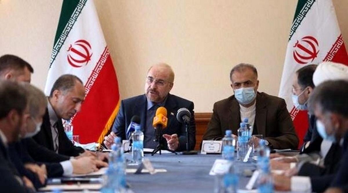 در دیدار قالیباف با تجار ایرانی و روسی چه گذشت؟ + جزئیات مهم
