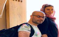 آخرین سفر حدیثه تهرانی و همسرش قبل از کرونا + عکس