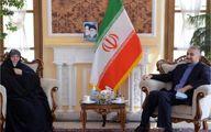 دیدار دستیار ویژه رئیس مجلس با دختر امام موسی صدر