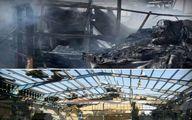 تصاویر تلخ از انفجار و آتش سوزی مهیب امروز در تهران