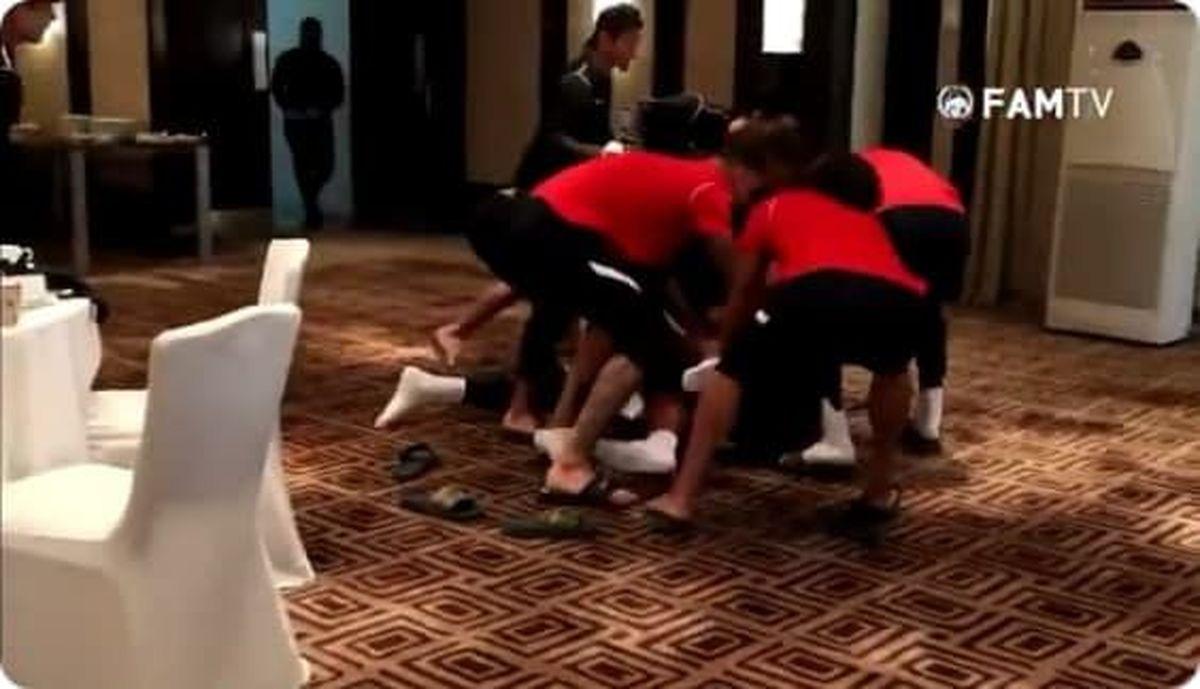 کتک کاری بازیکنان در جشن تولد سرمربی تیم ملی