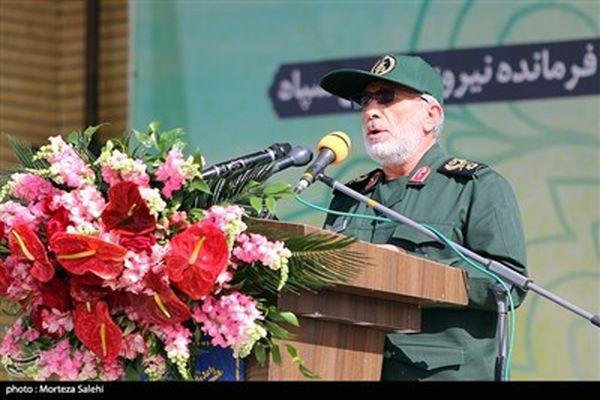 تصاویرتشییع پیکر مطهر سردار شهید حجازی در اصفهان