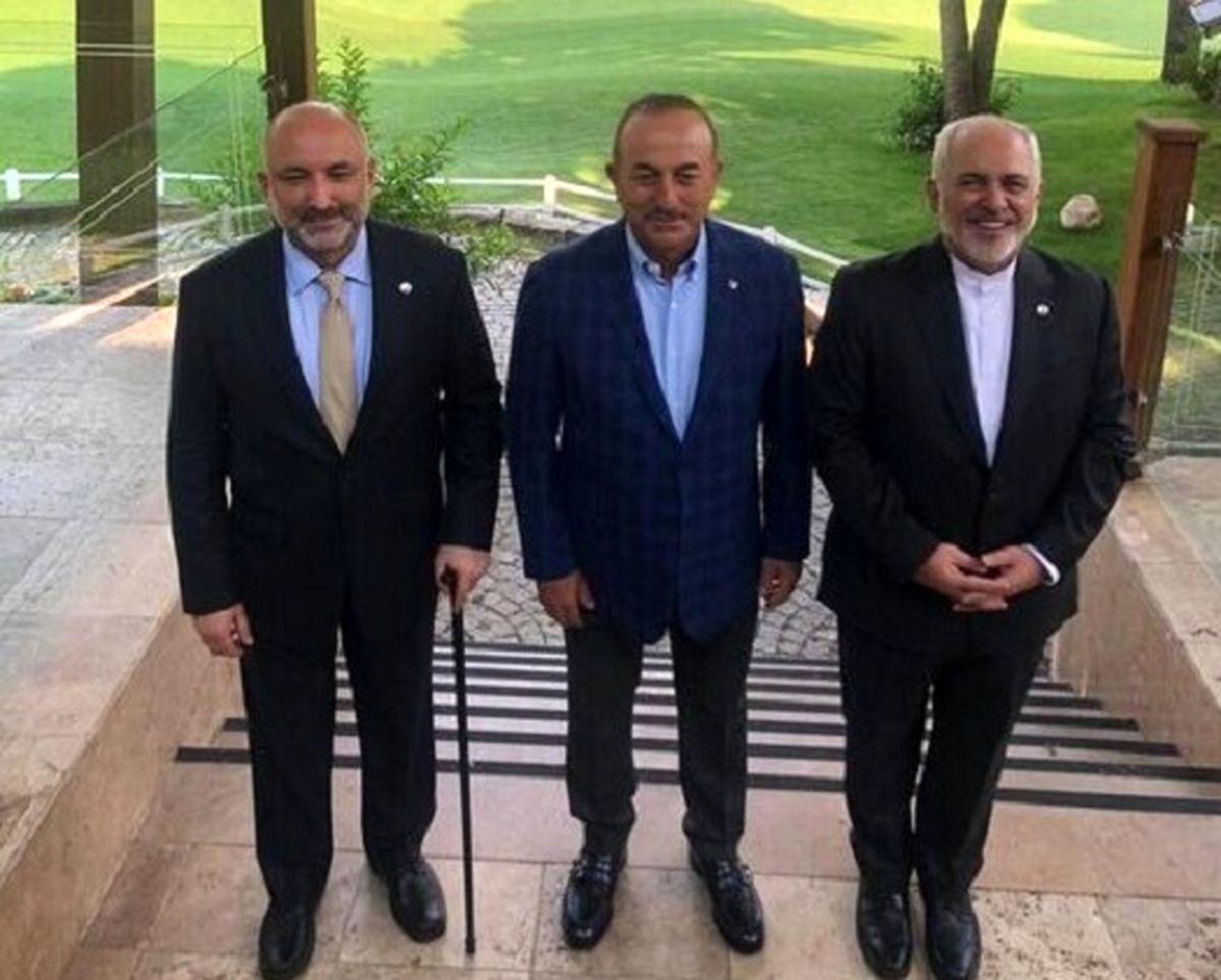 آغاز نشست سه جانبه وزرای خارجه ایران، ترکیه و افغانستان+ جزئیات