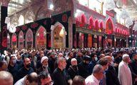 تصویر تشییع آیت الله سعید حکیم و حضور حجت الاسلام پناهیان