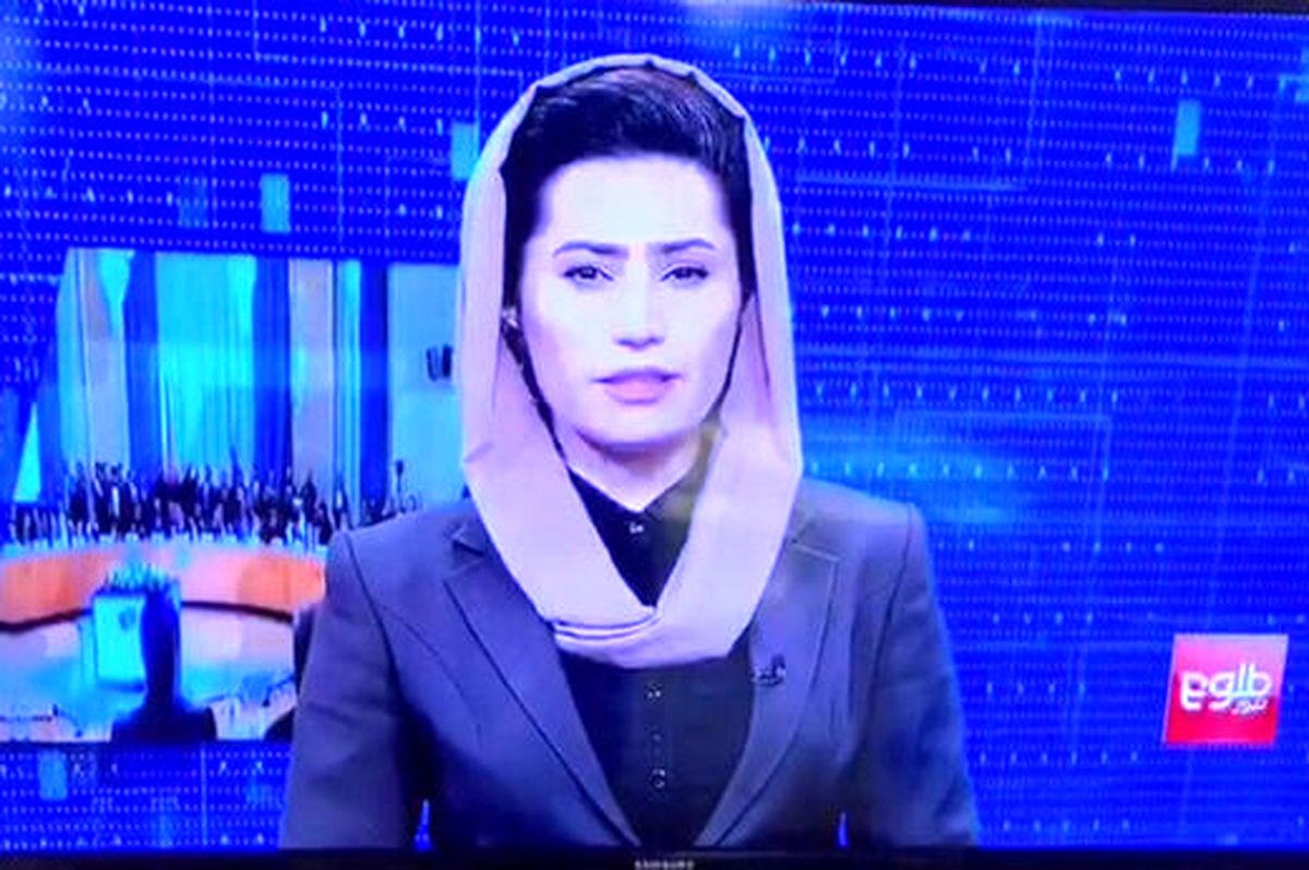 تصاویر زنان بدون تغییر در تلویریون طلوع افغانستان