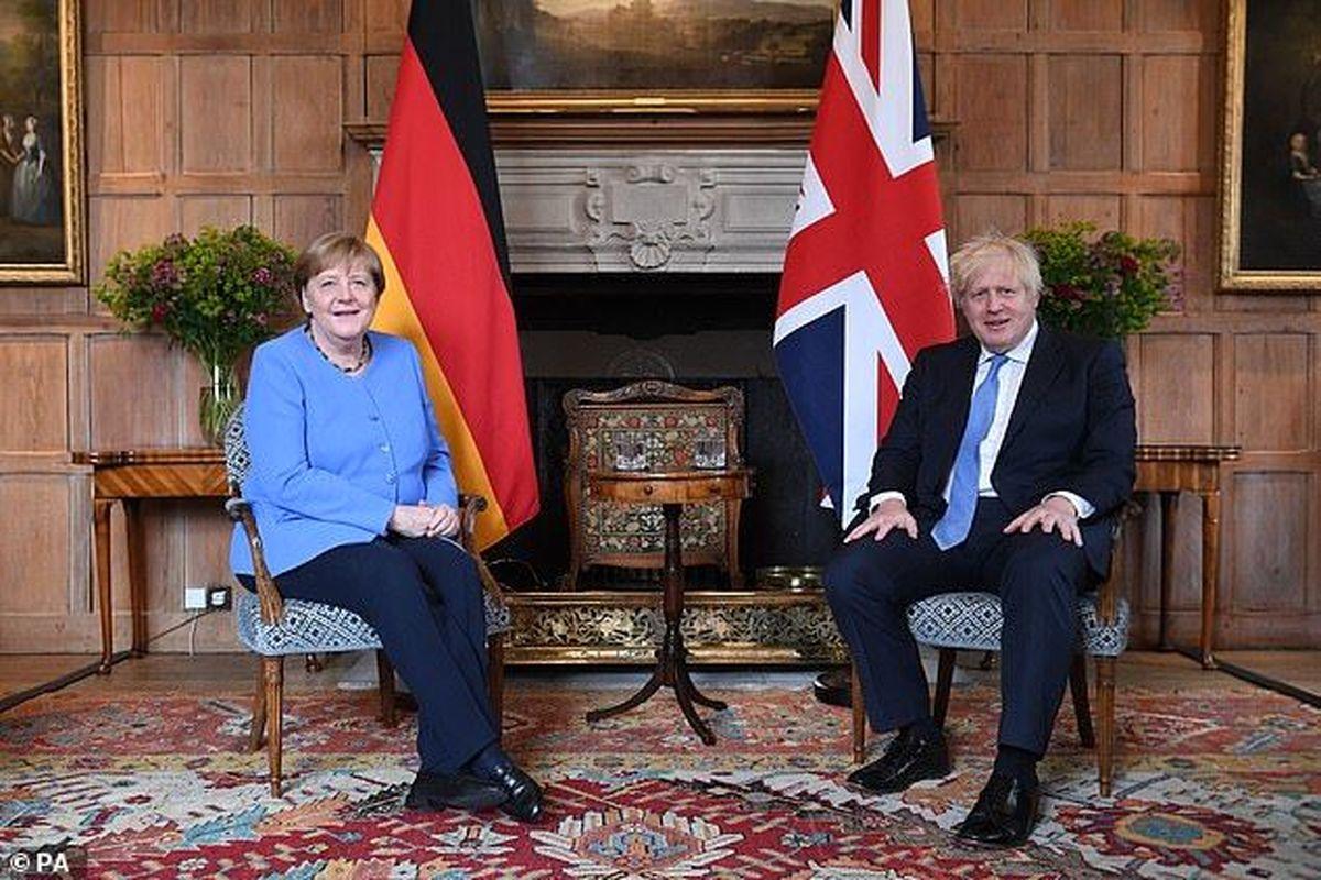 دیدار رهبران آلمان و انگلیس در سایه محدودیتهای مسافرتی