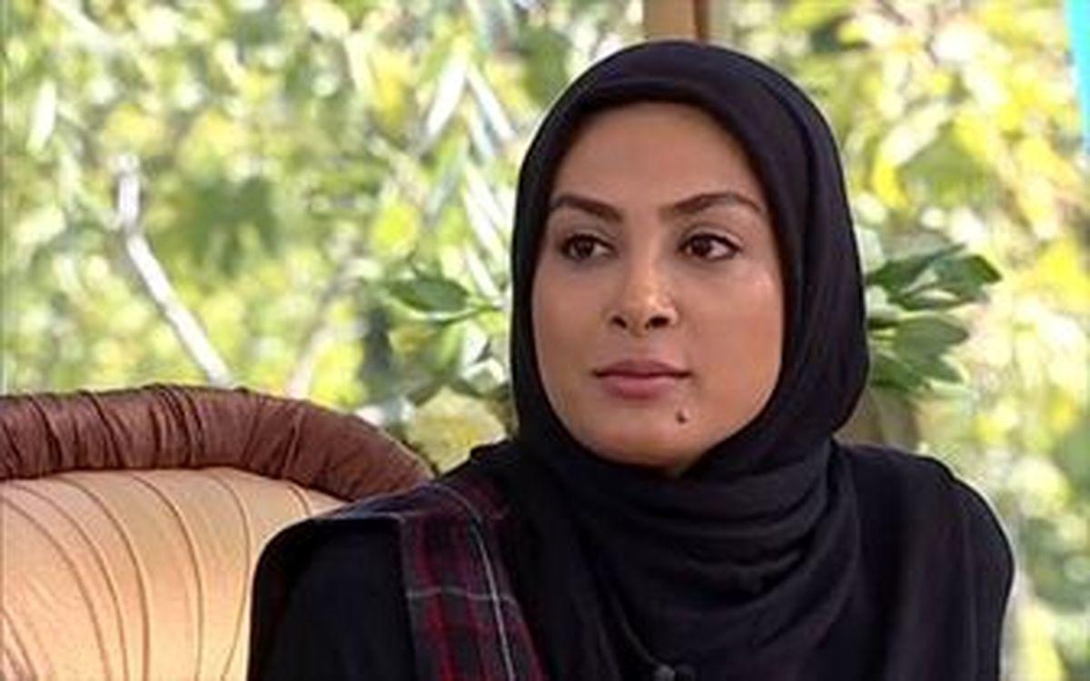 حرکات عجیب حدیثه تهرانی و همسرش در ملأ عام!