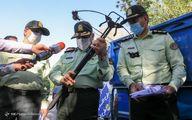 سلاح کشفشده از اراذل تهران؛ اسلحه جومونگ