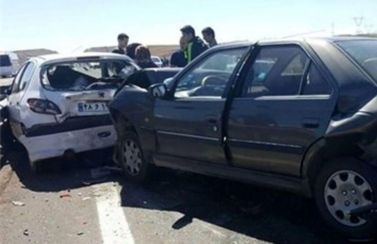 تصادف وحشتناک7 زن و مرد و کودک در نجف آباد