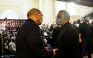 عکس:دیدار علی لاریجانی و محمد باقر قالیباف