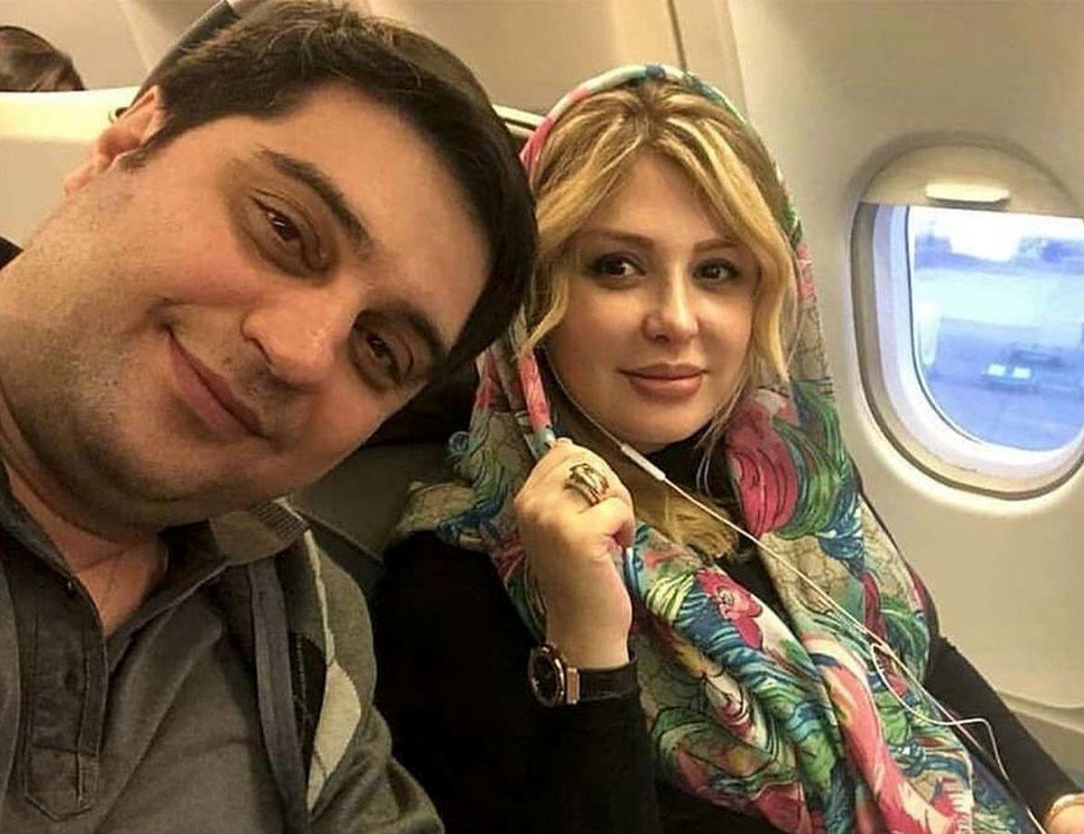نیوشا ضیغمی از همسرش جدا شد؟+عکس عجیب