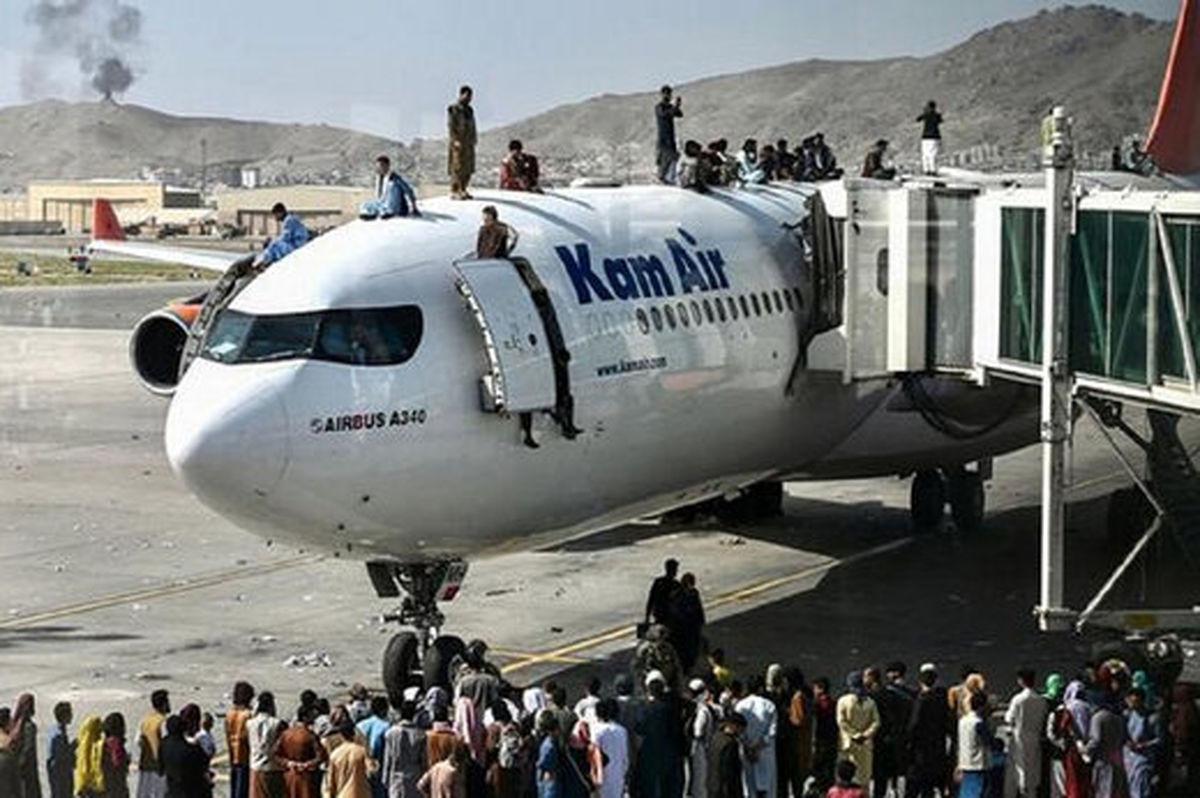 فرود چند فروند هواپیمای افغانستان در ایران