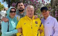 عکس جشن تولد شیک همسر علی پروین | علی پروین همسرش را سورپرایز کرد