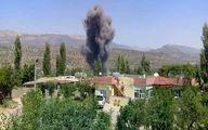 آتشسوزی در شمال عراق در نتیجه حملات ترکیه
