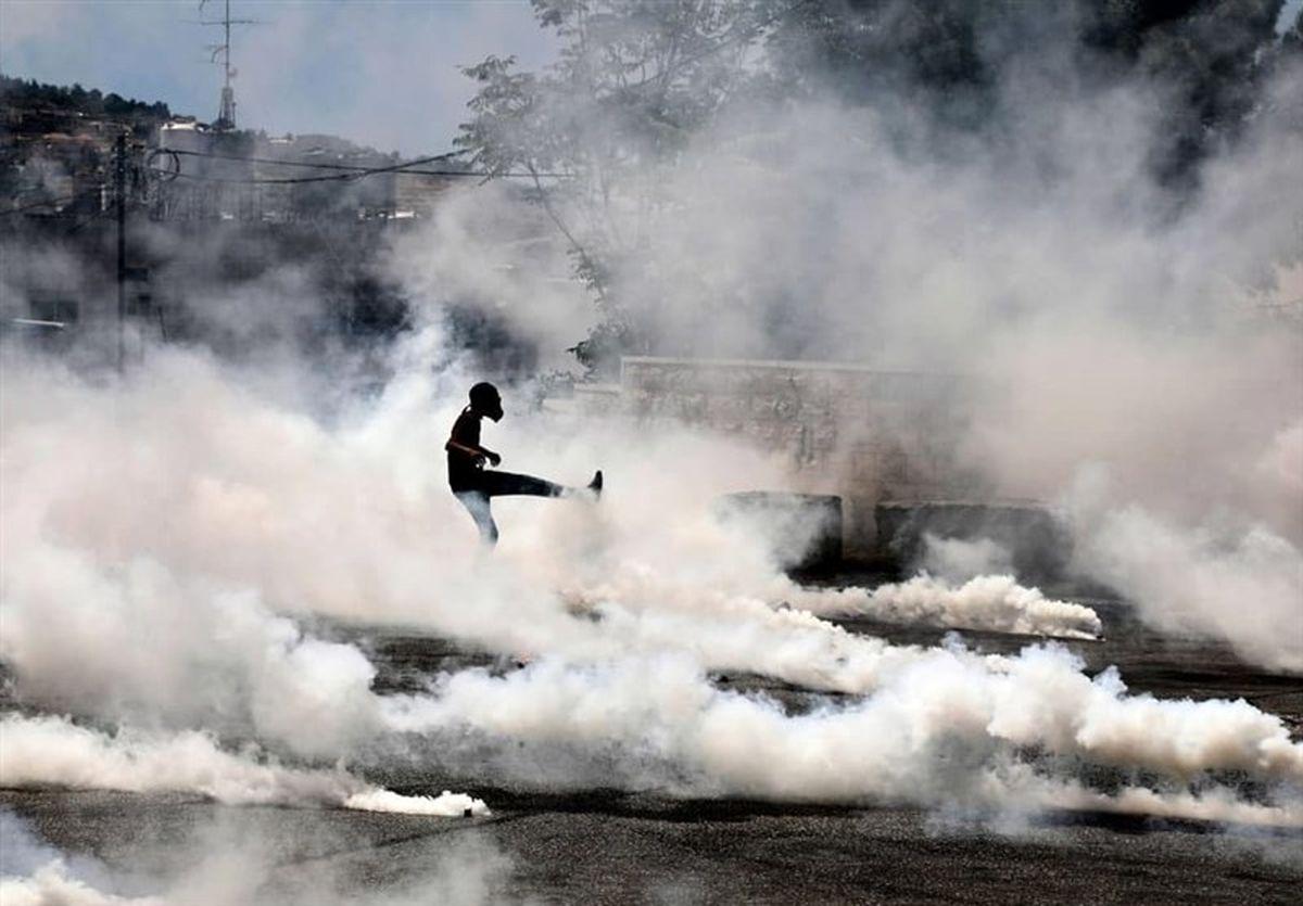 حمله نظامیان صهیونیست به فلسطینیها با گلوله جنگی در کرانه باختری