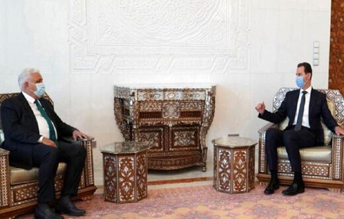 الکاظمی، اسد را هم دعوت کرد
