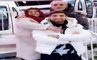 عکس / علیرضا جهانبخش و پدر و مادرش