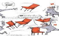 شاهکار جدید در لیگ برتر!/کاریکاتور