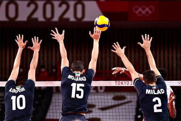 لحظه پیروزی شیرین والیبال ایران مقابل لهستان