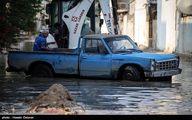 بوشهر هم دچار آب گرفتگی شد! /تصاویر