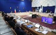 چرا صندلی حسن روحانی ۶ متر با وزرا فاصله دارد؟ + عکس