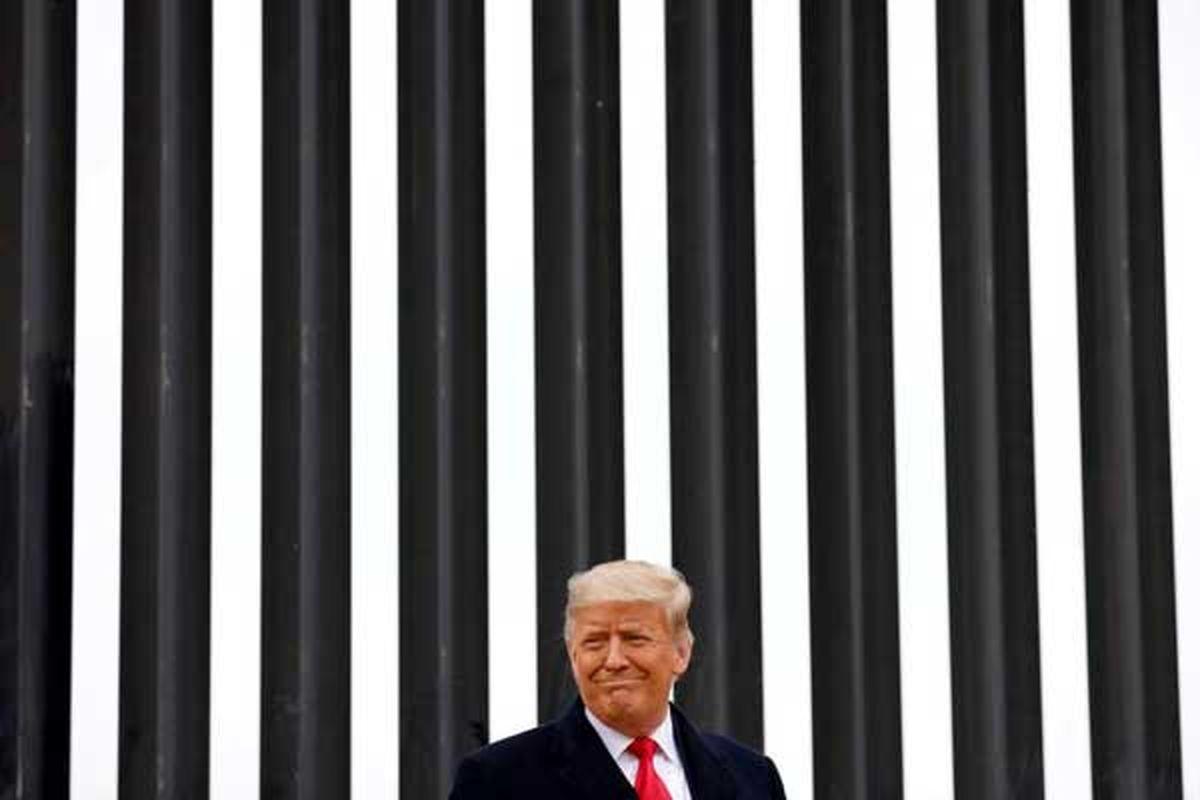 عکس دیده نشده و خفن از دونالد ترامپ