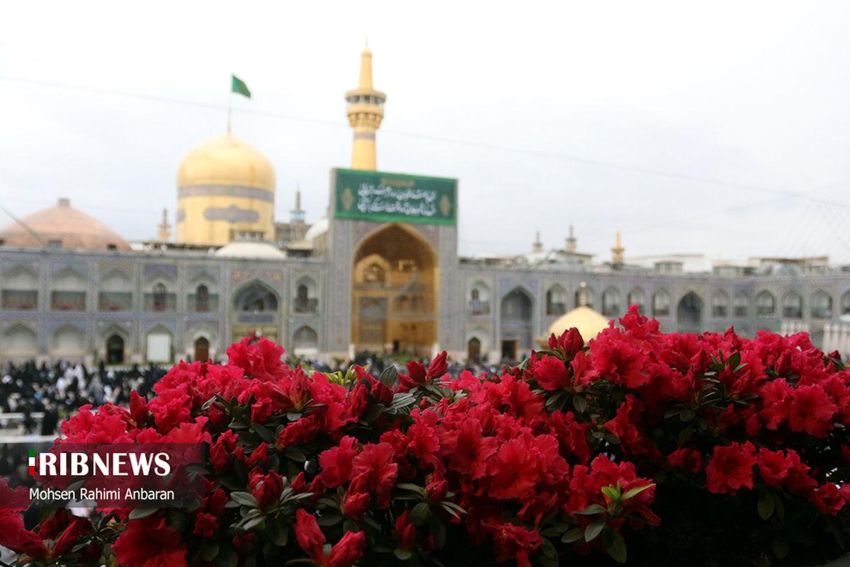 حال و هوای زیبای مشهد مقدس در ایام نوروز ۱۴۰۰+عکس ها