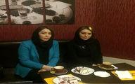 تصویر دیدنی از سحر قریشی در کنار سارا منجزی پور
