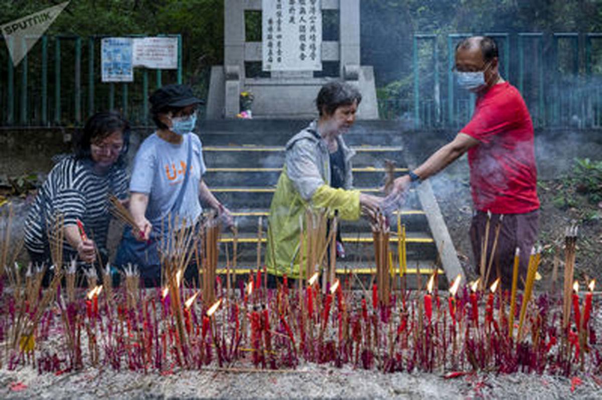 جالب ترین عکس ها از جشنواره شکوفه و گل «کینگ مینگ»