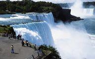 تصویر دیدنی از آبشار نیاگارا