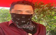 ماسک زنی به سبک بهرام رادان  + عکس