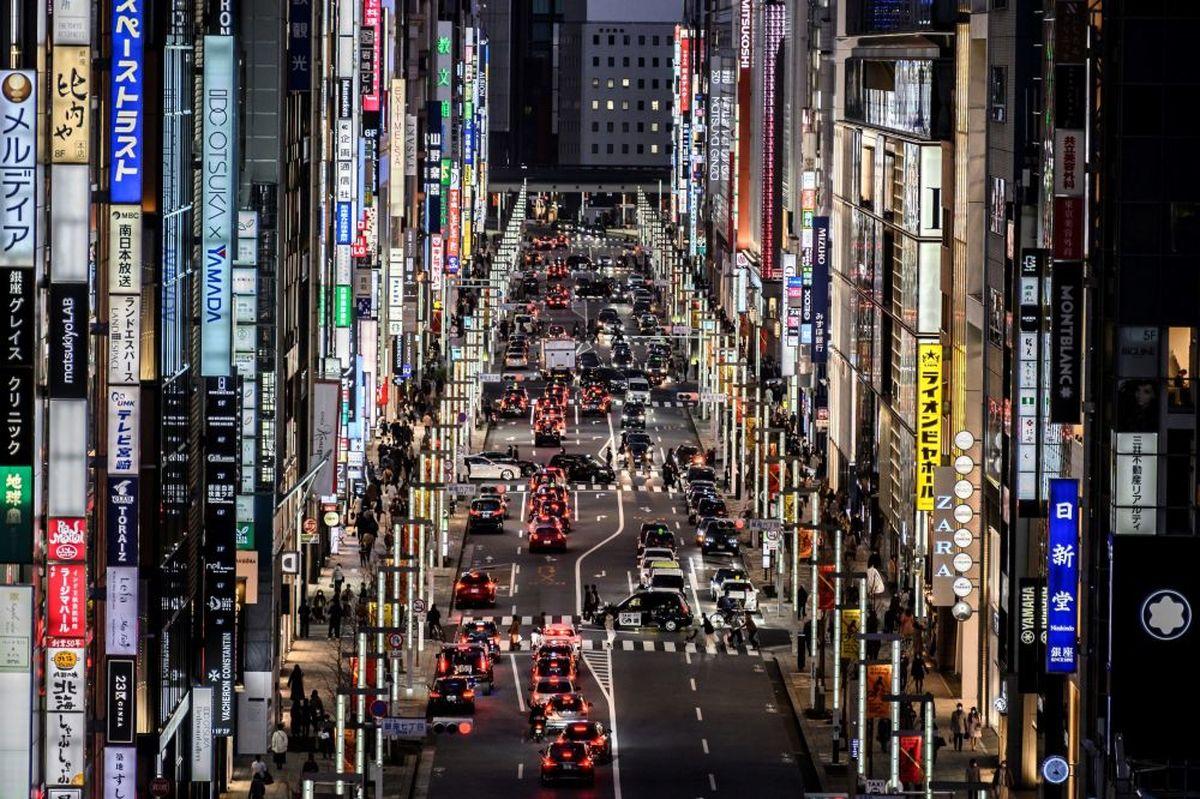 خیابانی خیره کننده در توکیو +عکس