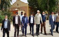بازدید مدیرعامل و اعضای هیات مدیره شرکت فولاد خوزستان از قرارگاه جهادی شفا