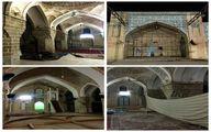 مسجد دزفول کج شده/ عکس
