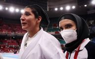 اشکهای غم انگیز حمیده عباسعلی در المپیک