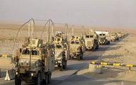 سومین کاروان آمریکا در عراق هدف حمله قرار گرفت