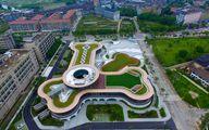 طراحی جالب یک کارخانه در چین/عکس