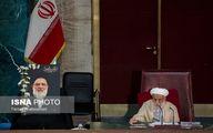 صندلی خالی مرحوم هاشمی شاهرودی در جلسه امروز خبرگان رهبری/عکس
