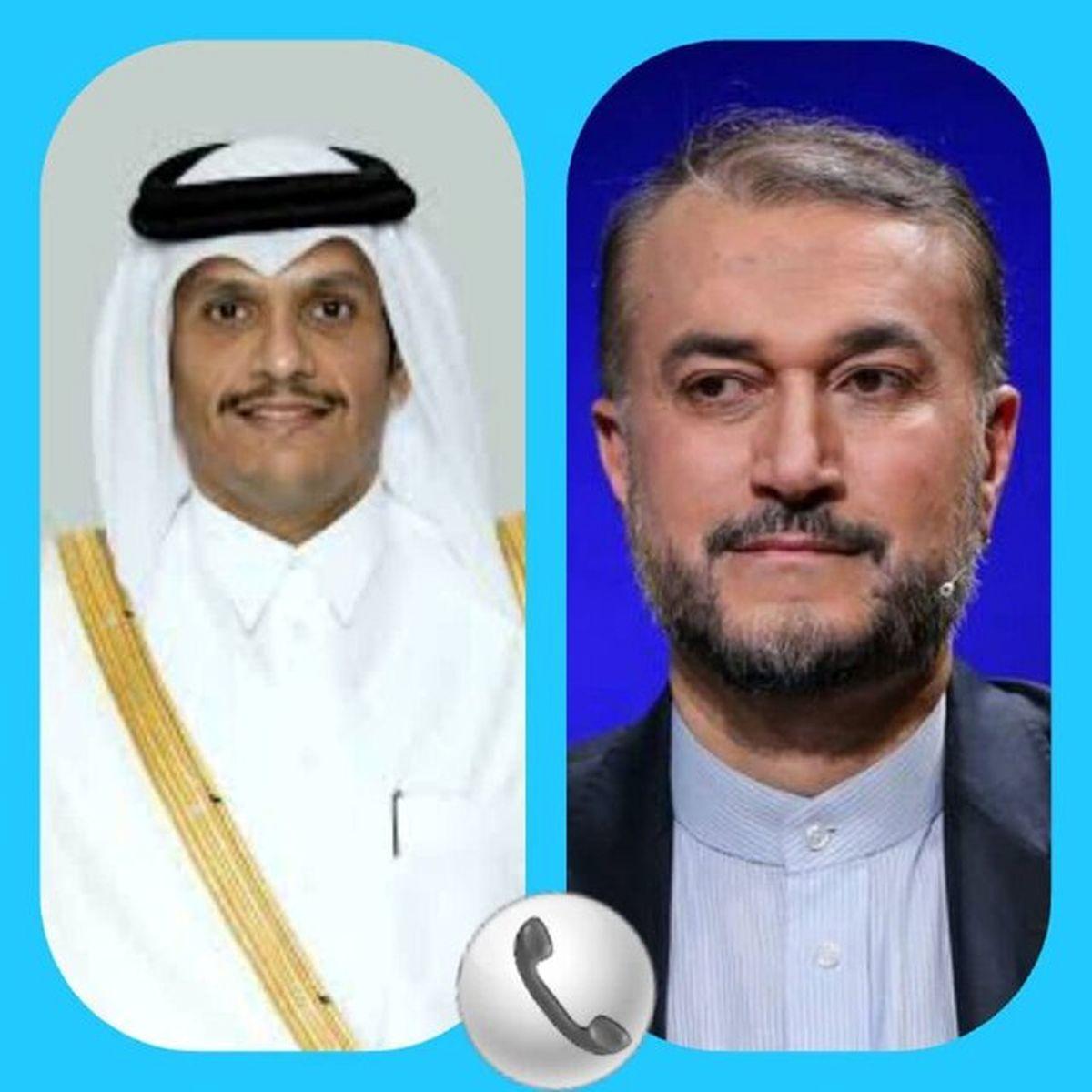 جزئیات مهم گفتوگوی تلفنی وزیر خارجه ایران با وزیر خارجه قطر
