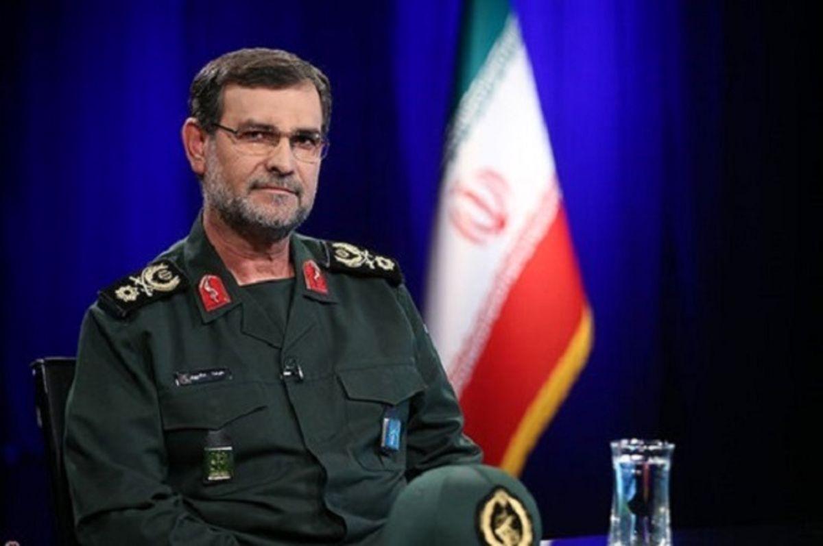 ترس دشمن از قدرت نمایی موشک های سپاه /سردار تنگسیری: تهدید را با تهدید جواب میدهیم